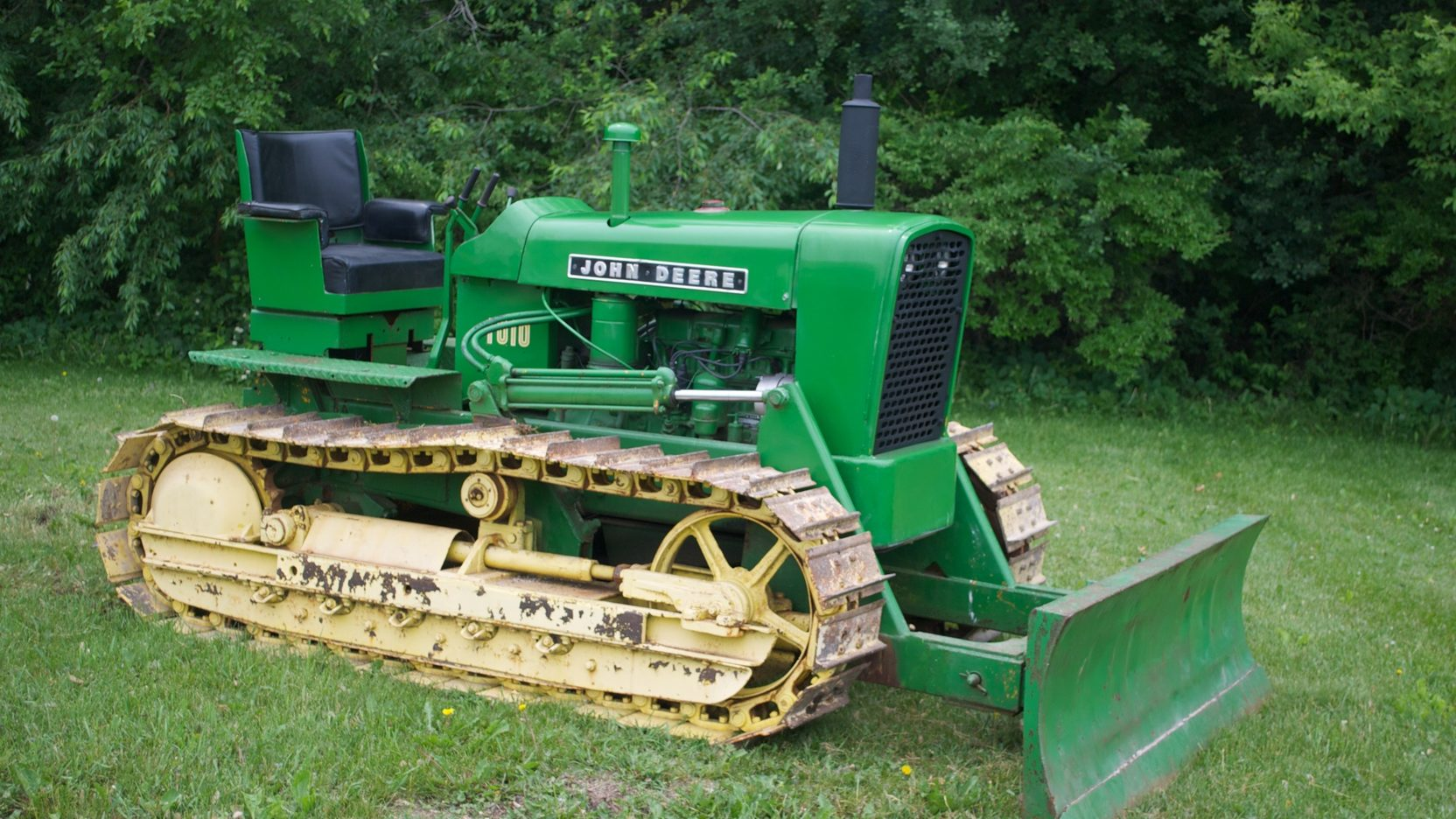 John Deere 1010 Crawler | S125 | Gone Farmin' Summer 2011