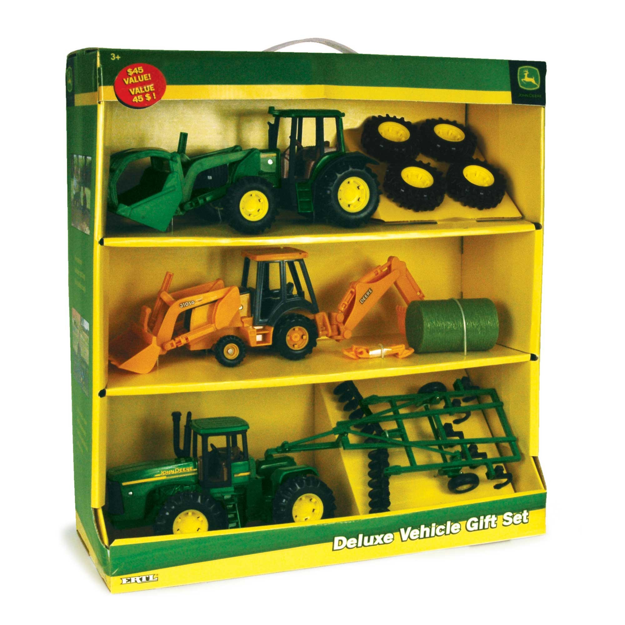 toys for over 60 years, this incredible John Deere Replica Value Set ...