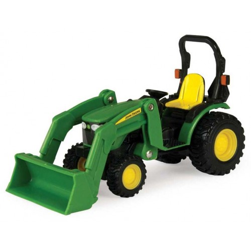 Home / Collect N Play Mini John Deere Compact Tractor With Loader