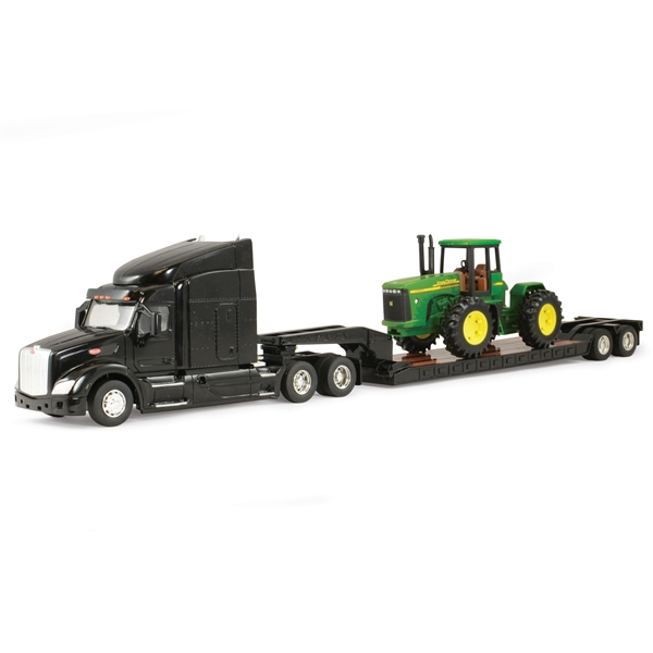 John Deere Peterbilt Model 579 w/ Tractor 1/32 Scale LP51316