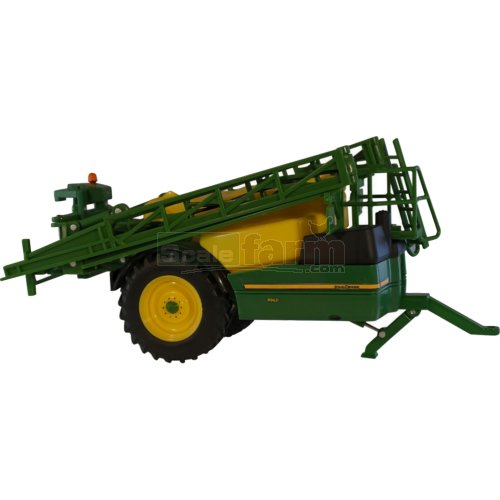 Die cast metal model John Deere R962i trailed sprayer with folding and ...