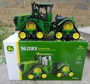 ERTL 1:32 JOHN DEERE *9620RX* Tracked Tractor *2016 FARM SHOW EDITION ...