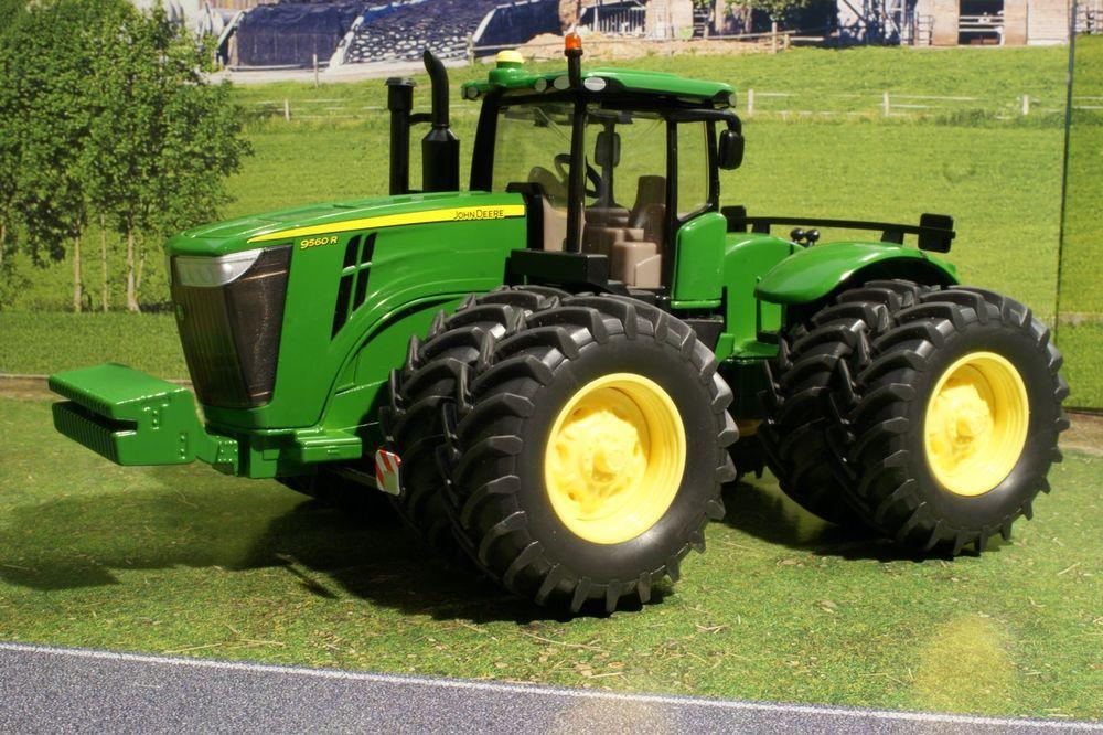 Siku 3276 - John Deere 9560R Dual Wheeled Tractor - Scale 1:32 Diecast ...