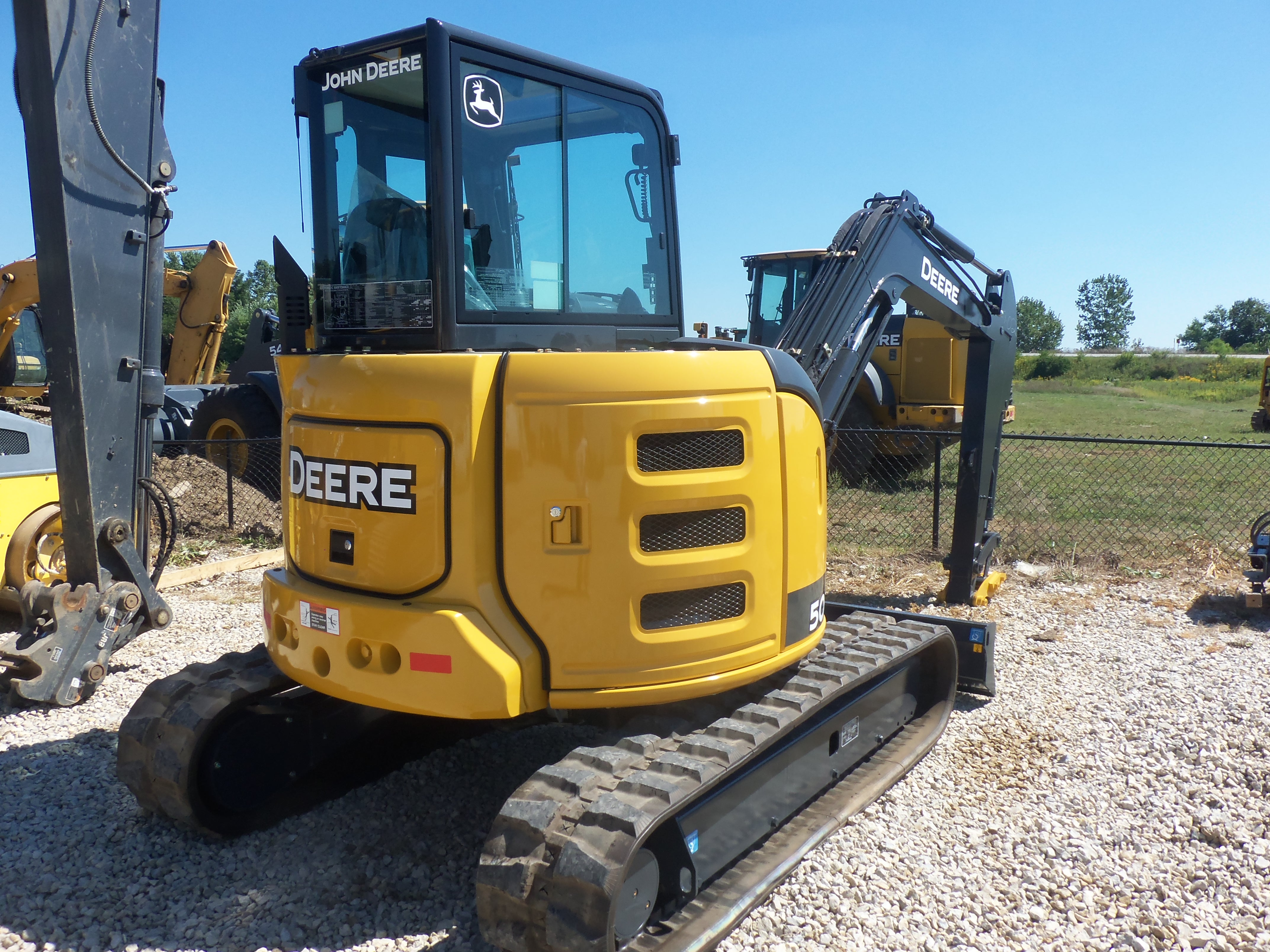 John Deere 50g Compact Excavator | John Deere Excavators: John Deere
