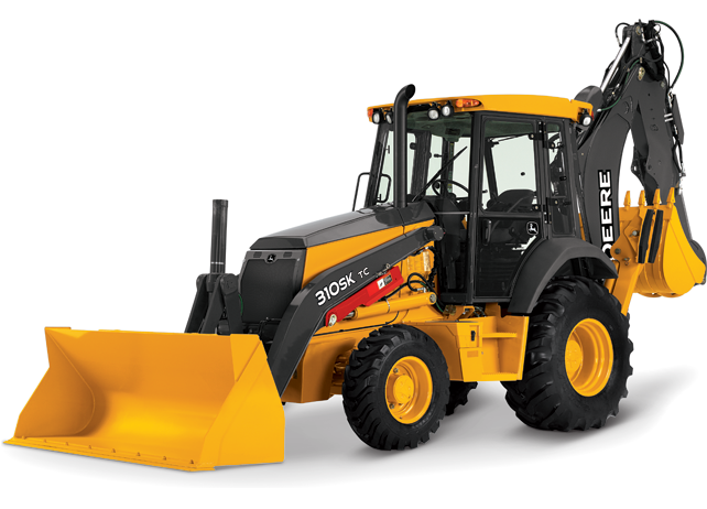 310SK TC Backhoe Loader from John Deere