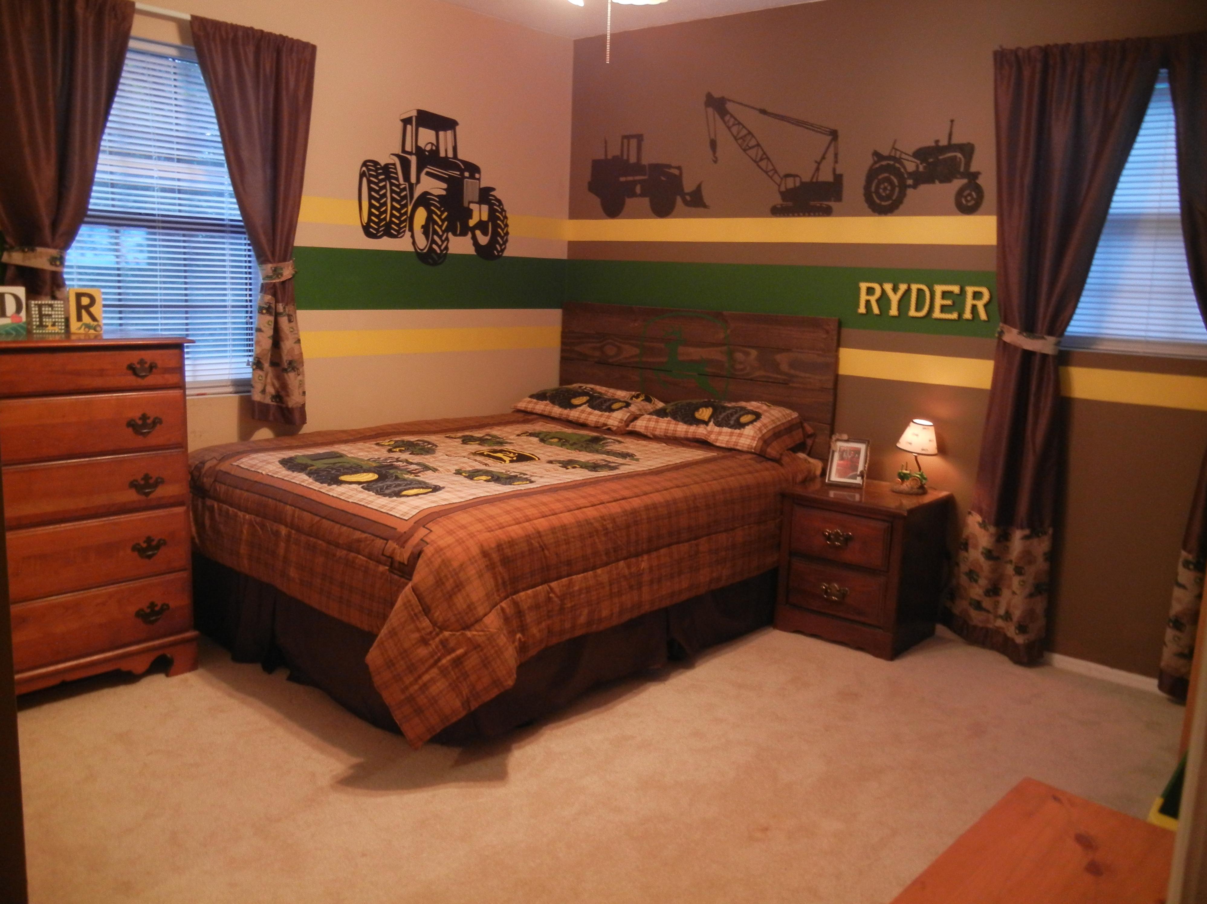 John Deere bedroom - tractors - little boy bedrooms | My Little B☺ys ...