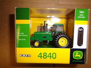 NEW John Deere 4840 Tractor, Authentics #5, 1/64, Ages 14+ (LP51304 ...