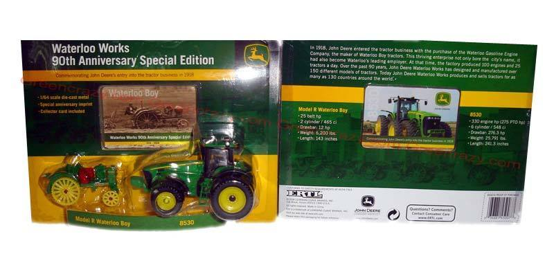 NEW John Deere Waterloo Works 90th Anniversary Special Edition 1/64 ...