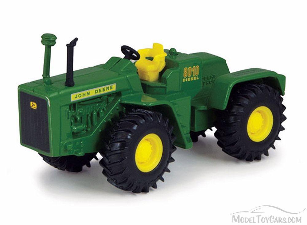 John Deere 8010 Diesel Vintage 4WD Tractor, Green - ERTL Collect n ...