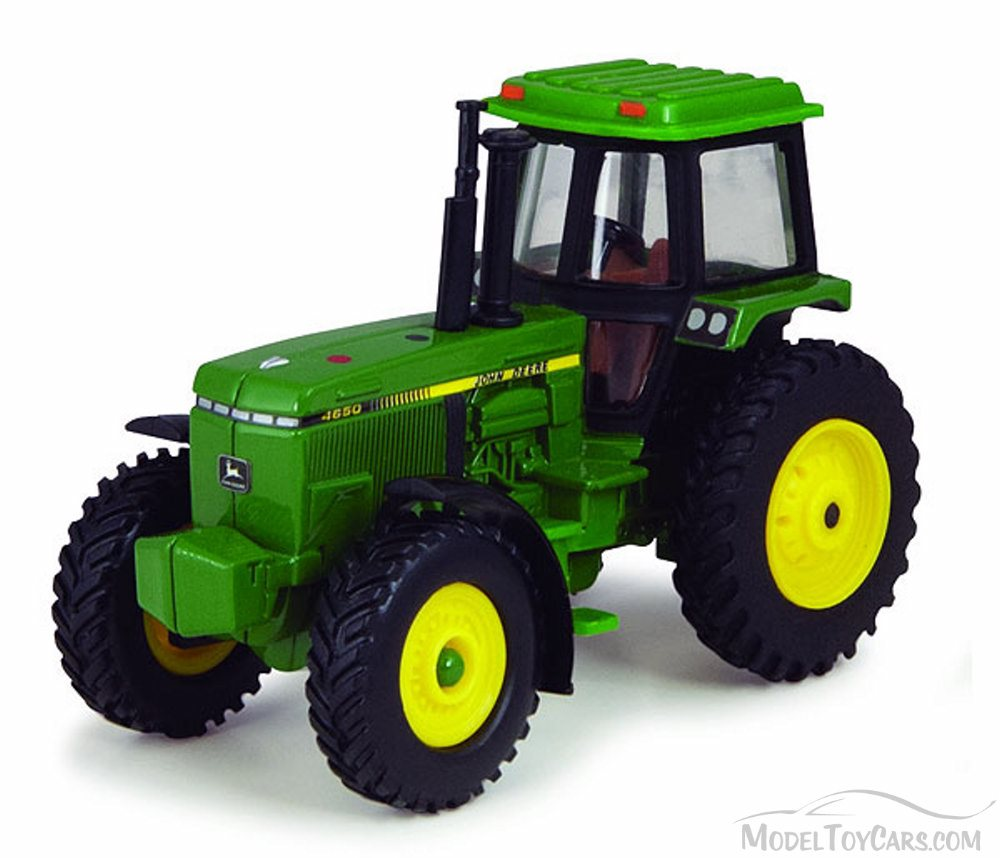 John Deere 1980's Vintage Tractor with Cab, Green - ERTL Collect 'n ...