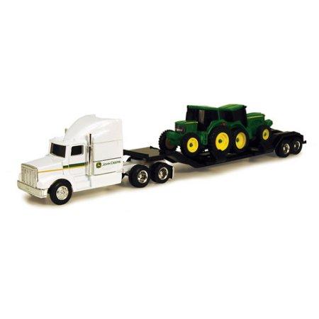 John Deere 1/64 Farm Hauler Semi with 2 Tractors Play Set - Walmart ...