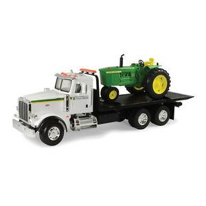 NEW John Deere Big Farm Peterbilt Model 367 w/4020 Tractor, Lights ...
