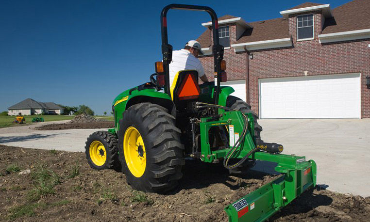 john deere small tractor attachments & implements