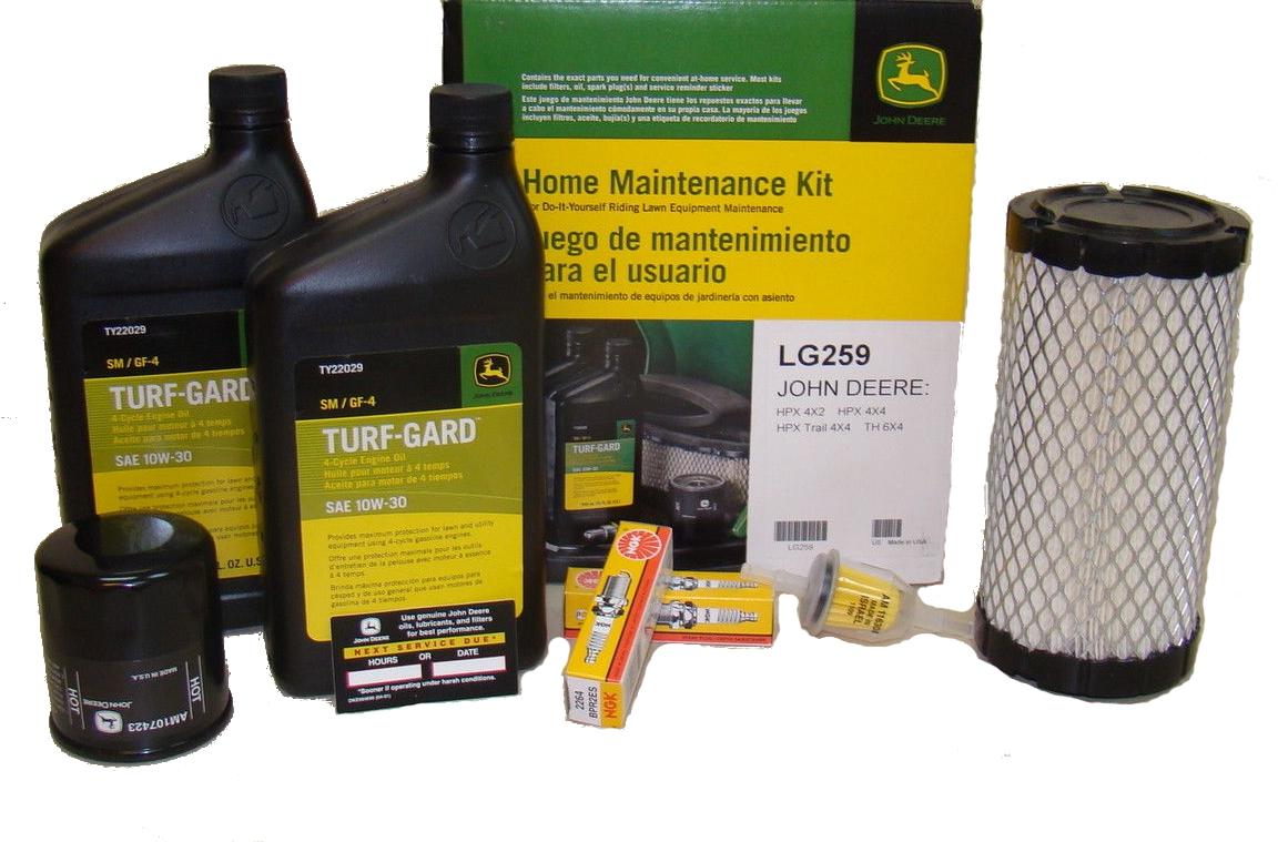 john deere th 6x4 gator home maintenance kit lg259 this john deere ...